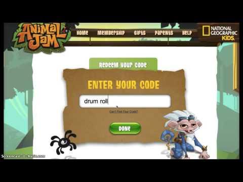 Working Animal Jam Codes
