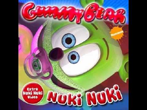 Nuki Nuki -nuki song- Full Version Gummy Bear