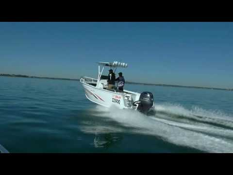 550 Vision walk through - Sea Jay Boats
