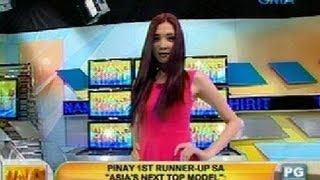 UH: Pinay 1st runner-up sa 'Asia's Next Top Model': Stephanie Retuya view on youtube.com tube online.