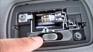 DIY 2013 2014 2015 Honda Accord Coupe Interior License