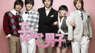 (Boys Over Flowers OST)SS501 Because I'm Stupid + Lyrics