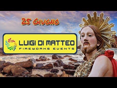 ACITREZZA (Ct) - SAN GIOVANNI BATTISTA 2017 - Luigi DI MATTEO (Notturno)