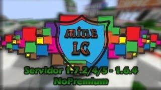 Server Minecraft MineLC [1.7.9, 1.6.4, 1.5.2] No Premium