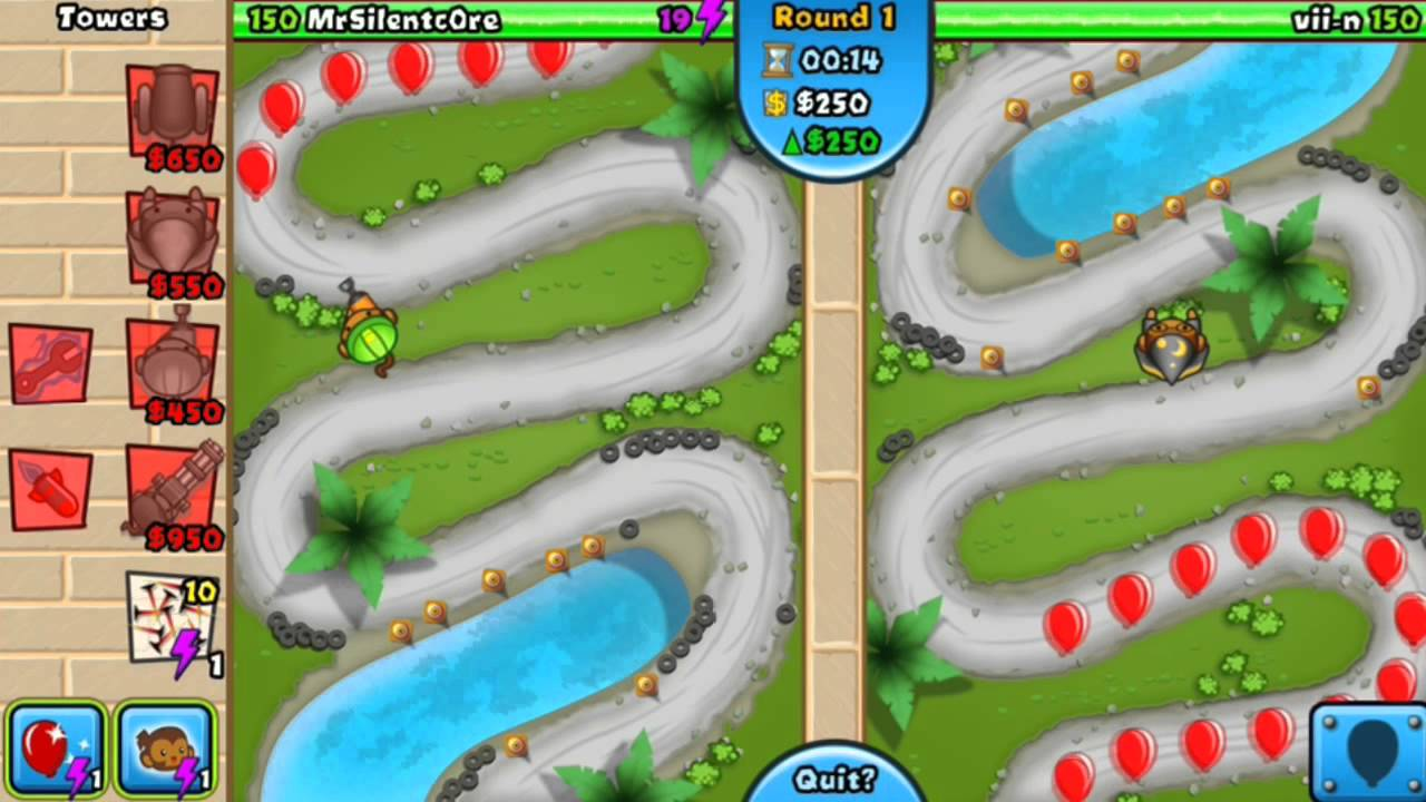 how to change account in bloons td battles