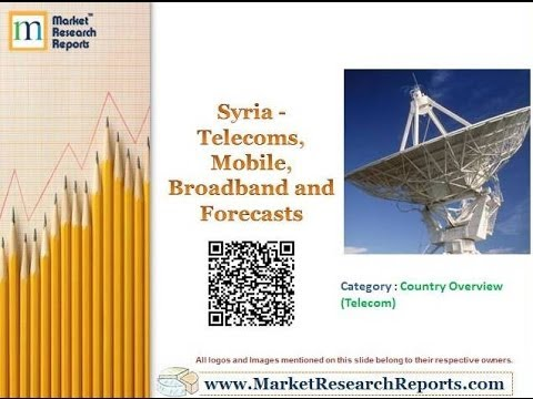 Syria - Telecoms, Mobile, Broadband and Forecasts