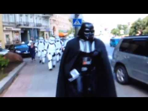 DARTH VADER - DRUG WARS IN UKRAINE - STACEY DOOLEY REPORTS FOR THE BBC