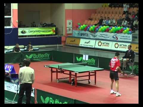 CHAMPIONS LEAGUE. ZORAN PRIMORAC - WANG XI 3 SET