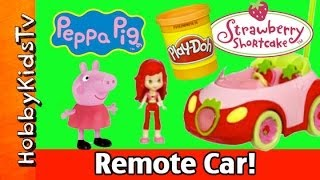 Peppa Pig PLAY-DOH Pie In Strawberry Shortcake's Car