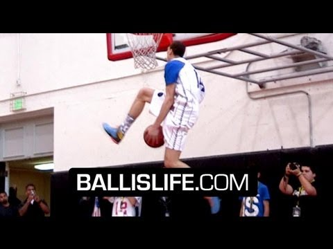 Zach LaVine Has SICK Game, Range &amp; Bounce! UCLA Commit OFFICIAL Mixtape!