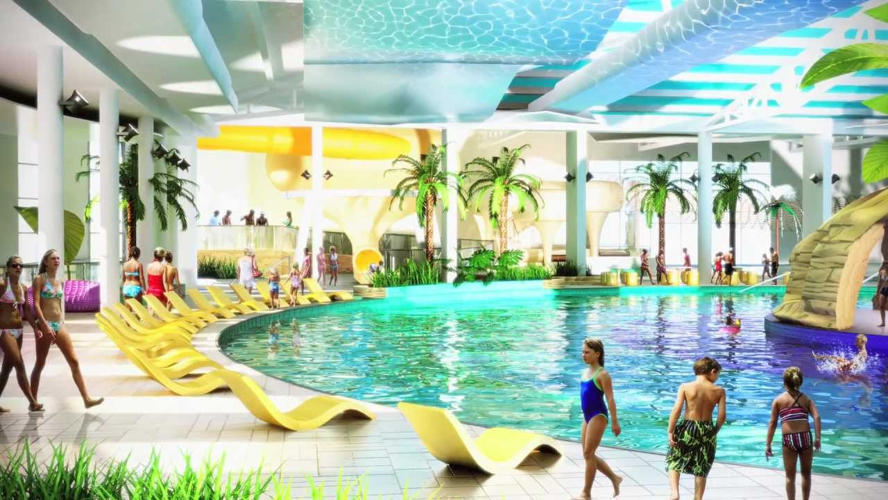 news from our brand new splash waterworld in