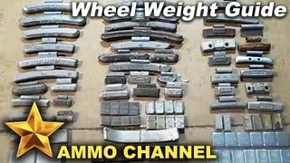 Different Types Of Wheel Weights Lead Bullet Casting