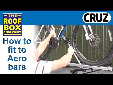 CRUZ Bici rack on CRUZ steel bars - fitting guide