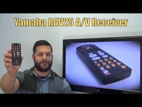 YAMAHA RAV25 Audio/Video Receiver