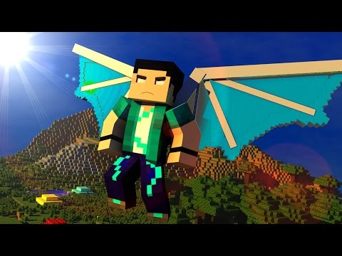 Minecraft - COMO TER ASAS NO JOGO! Simples Flight MOD