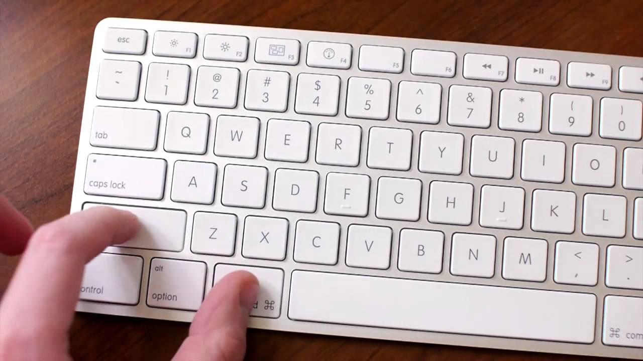 Как сделать print screen на mac