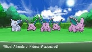 Pokemon X And Y How To Get Shiny Pokemon FAST!!! (Horde