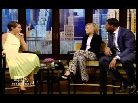 Shailene Woodley on Live with Kelly & Michael