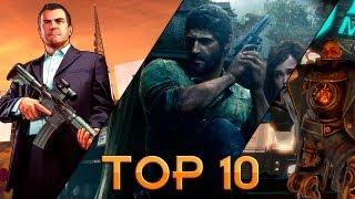 Top 10 Jogos Mais Aguardados De 2013 (HD)
