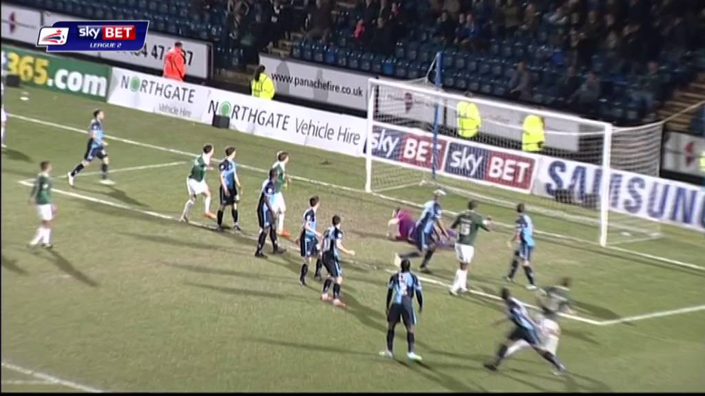 Wycombe Wanderers 0-1 Plymouth Argyle