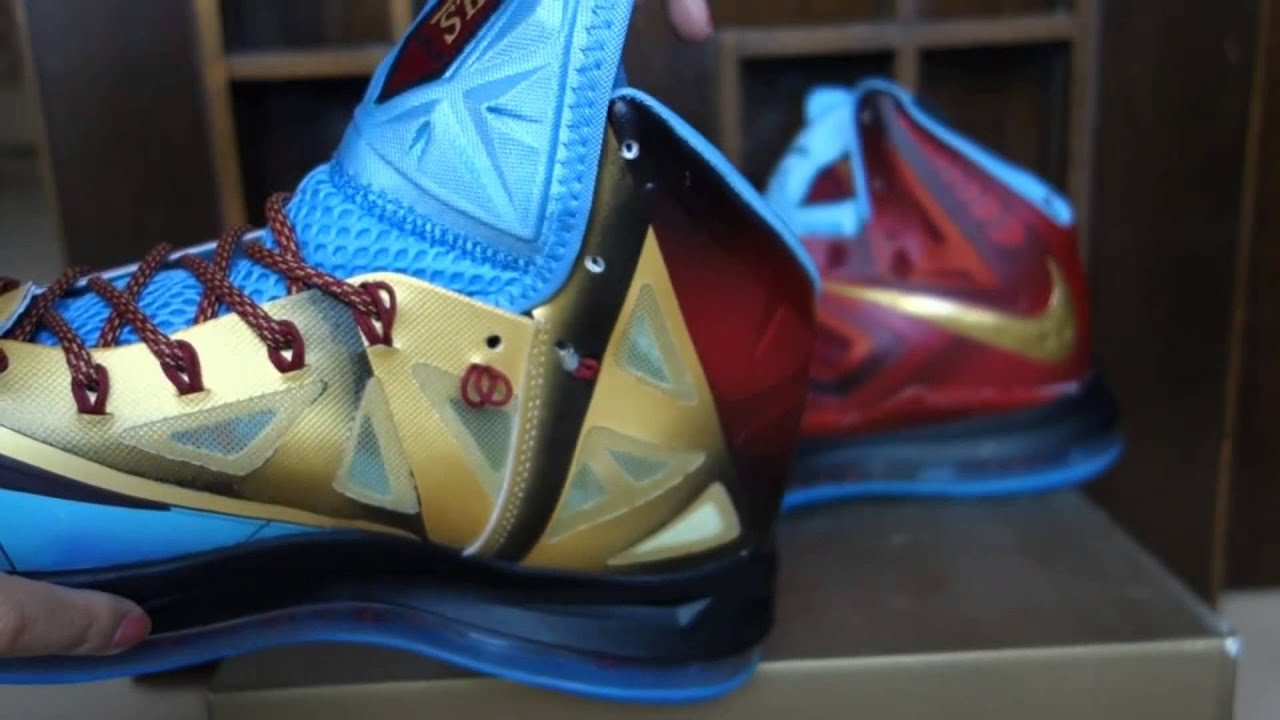 Lebron 10 Iron Man - YouTube