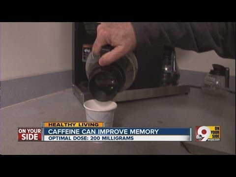 Caffeine can improve memory