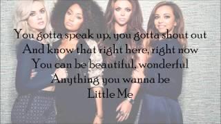 Little Mix Little Me (with Lyrics)
