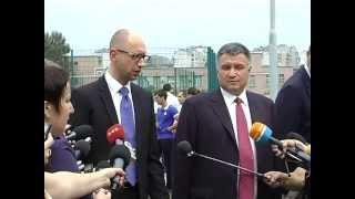 Прем'єр-міністр України Арсеній Яценюк про ХНУВС