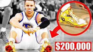 The Most Expensive Shoes Worn In An NBA Game - Stephen Curry | LeBron James | Kobe Bryant