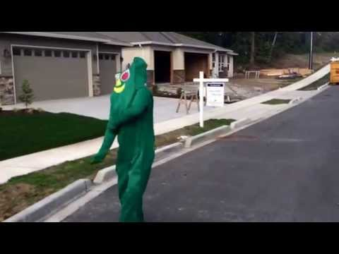 Gumby puts in WORK to Danny Glover