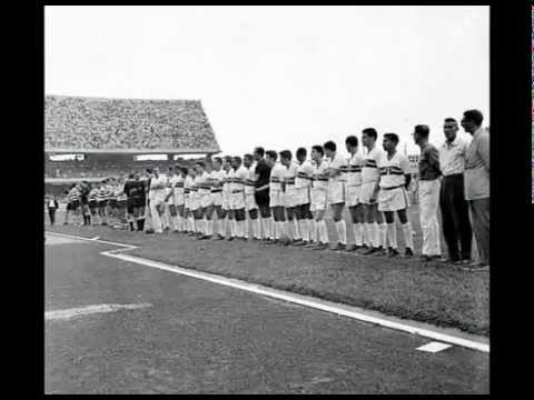São Paulo - 1 x Sporting - 0 a 02/10/1960 Inauguração do Morumbi