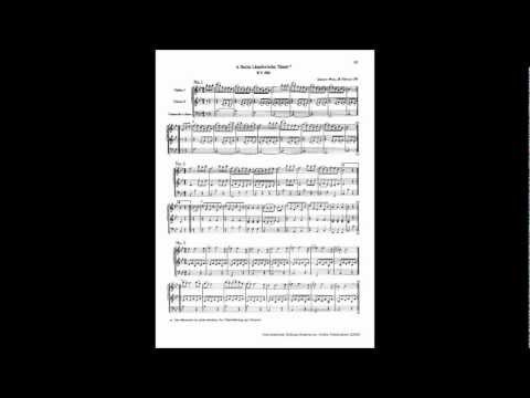 Mozart - 6 German Dances, K. 606 [complete] (Lndler)