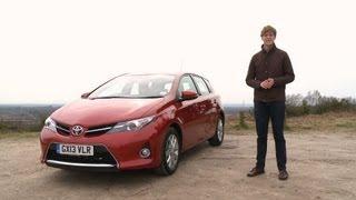 2013 Toyota Auris inceleme - İngilizce
