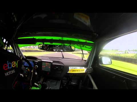 COLIN TURKINGTON ONBOARD AT OULTON PARK