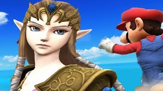 Super Smash Bros 4 Characters: Zelda Trailer (WII U / 3DS