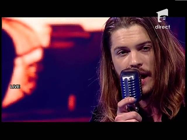 "Alex Maţaev - Bon Jovi - ""It's my life"" - X Factor Romania, sezonul trei"