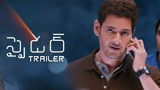 Spyder Movie Telugu Trailer