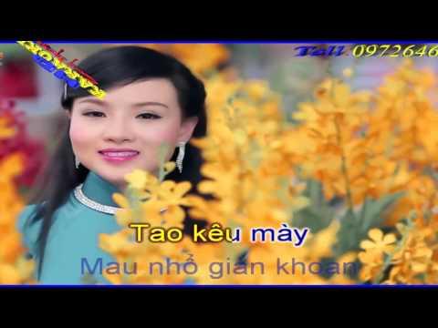 HOA CÀI MÁI TÓC - Tùng Chùa Chế - KARAOKE HD