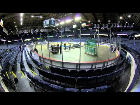 Allstate Arena Changeover 2011