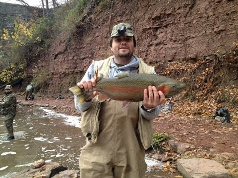 9 lb steelhead trout fishing video in new york it is on for New york out of state fishing license