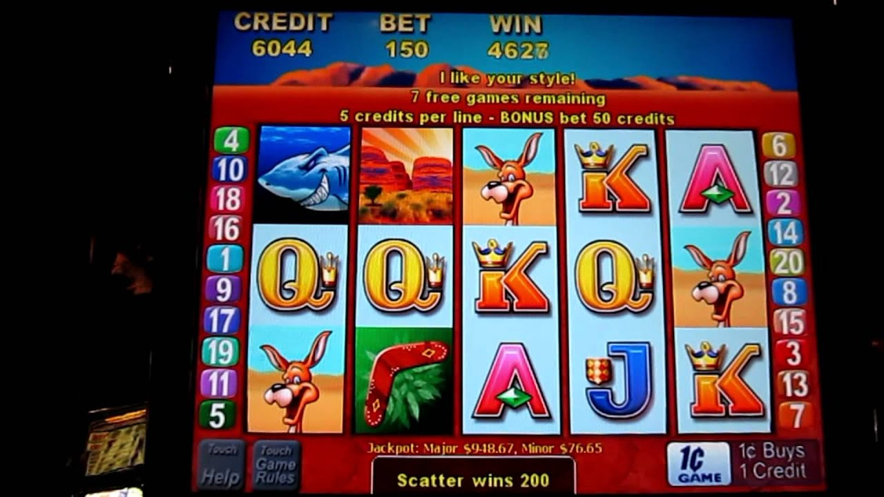 video slots online free bonus round