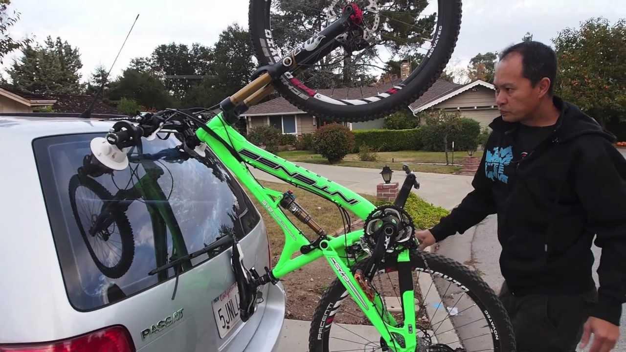 Seasucker Hornet First Bike Rack Impressions Youtube