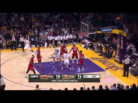 Miami Heat vs. Los Angeles Lakers Highlights 25/12/13