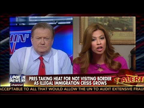 Michelle Fields Challenges Bob Beckel for Defending Obama on Border Crisis