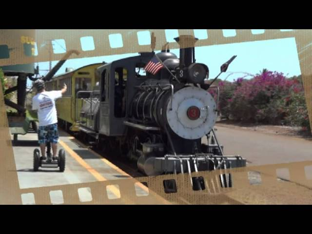 Segway with Sugar Cane Train.mpg