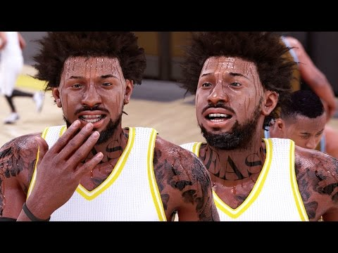 NBA 2k16 My Career Gameplay Ep. 3 - Bridges Dominates 1st HIGH SCHOOL Game! Laughing at Opponents
