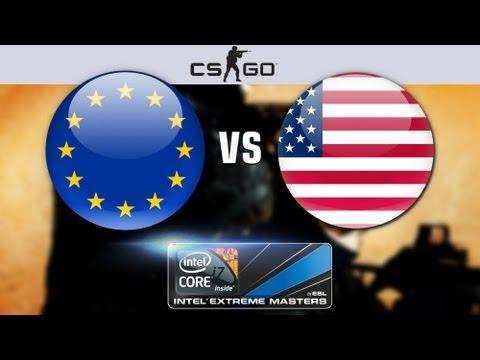 Шоу матч по CS: GO America vs. Europe