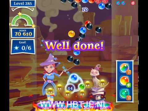 Bubble Witch Saga 2 level 285