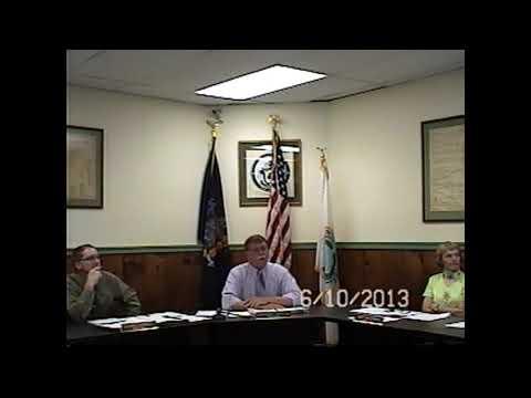 Champlain Village Board Meeting 6-10-13