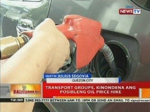 BT: Unang oil price hike ngayong taon, posibleng ipatupad ngayong